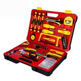 家用五金工具箱套装 多功能电木工家庭维修手工组合套