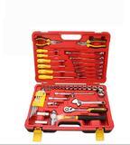 49件汽修综合组套 套筒棘轮扳手螺丝批修车工具套装