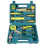 胜达工具 12件家用工具套装组合五金车载多功能工具