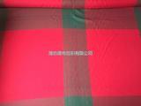 厂家供应环保染色全涤竹节仿麻色织布