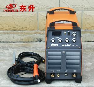上海东升WS-400GA直流氩弧焊机电焊两用380V工业型不锈钢水冷焊机
