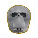 隔热电焊面罩牛皮工地电焊面罩防护面罩 氩弧 面部防护