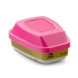 3M 60926 呼吸防护的多用气体/ 蒸气滤毒盒及P100 颗粒物滤棉两
