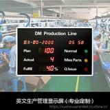 工厂车间电子管理看板系统 流水线生产进度看板 精益生产显示屏