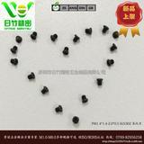 不锈钢302 PM1.4X1.4十字盘头机牙氧化黑螺丝  手机/无人机紧固件