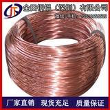 T1镀钛紫铜线 T2紫铜扁线1.0-8mm 深圳C1100优质紫铜线