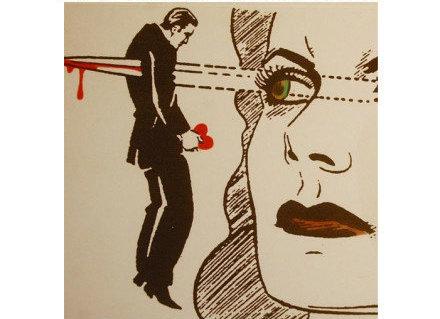 人性本色玫瑰情人_9幅百看不厌的人性漫画