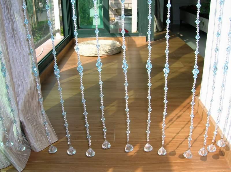 水晶珠帘,刻面球珠,光珠图片六