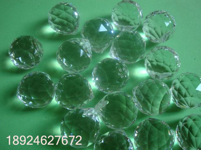水晶灯饰球、水晶吊球图片九