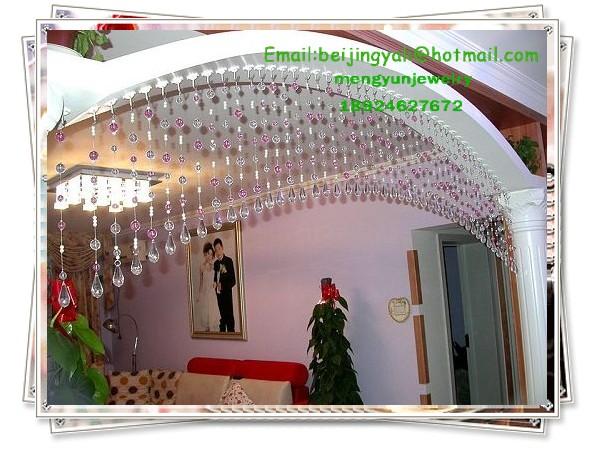 水晶珠帘,刻面球珠,光珠图片三