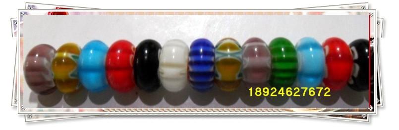 大孔猫眼珠、陶瓷珠、琉璃珠图片二