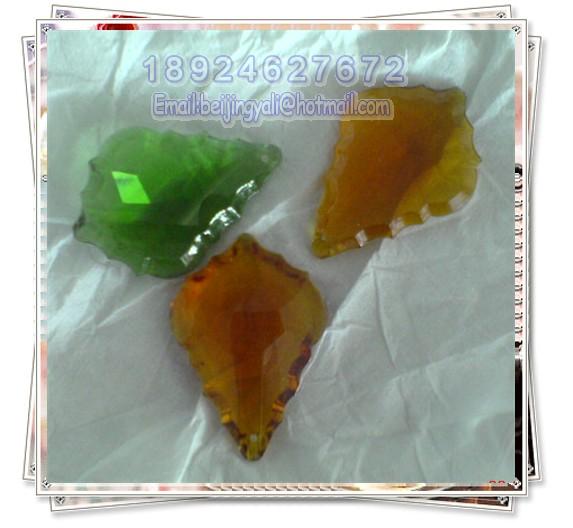 水晶枫叶吊坠图片二