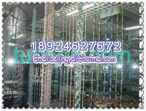 加工定做水晶珠帘、压克力珠帘,厂家直销各种塑料连线珠帘、线帘图片三