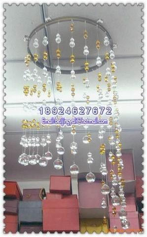 加工定做水晶珠帘、压克力珠帘,厂家直销各种塑料连线珠帘、线帘图片六