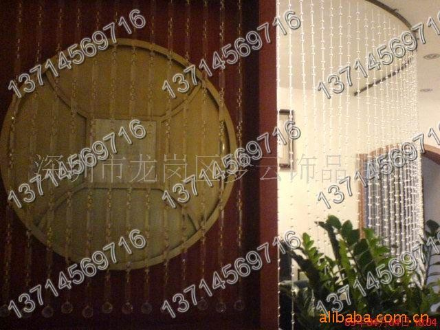 深圳珠帘、酒店装修、家居装修隔断、玄关图片三