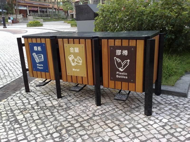 分类垃圾桶,双桶垃圾箱