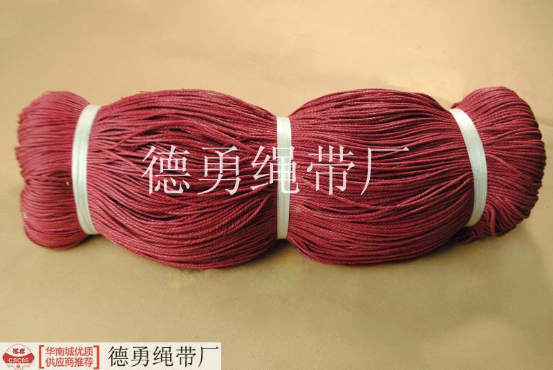 三股蜡绳,用于手工编织