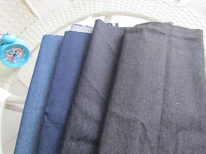 常年供货牛仔布 10安黑色蓝色斜纹图片二