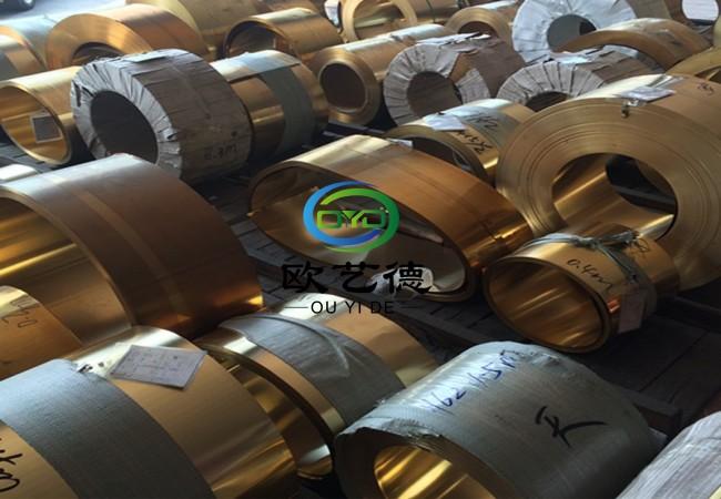 日本C2680黄铜带拉伸加工性优越图片八