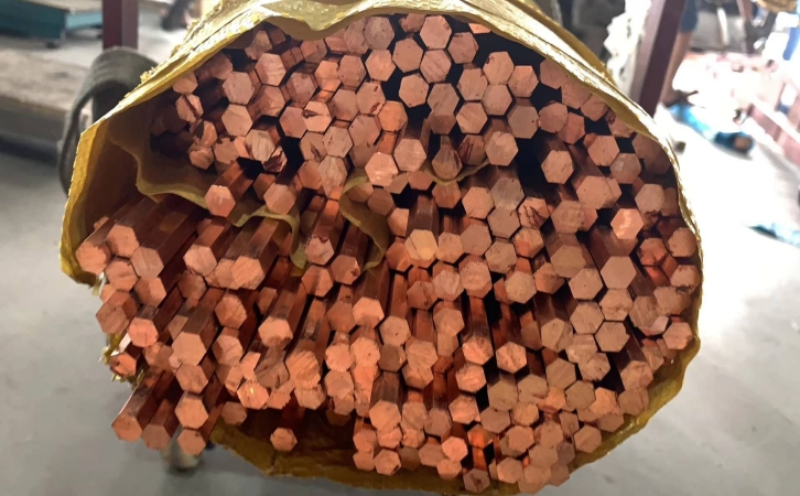 C1020实心铜棒 无氧红铜棒 可定制图片四