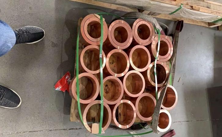 C1020实心铜棒 无氧红铜棒 可定制图片一