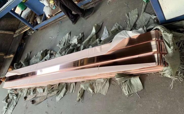 T2/C1100半硬紫铜带 加工分条送货图片五