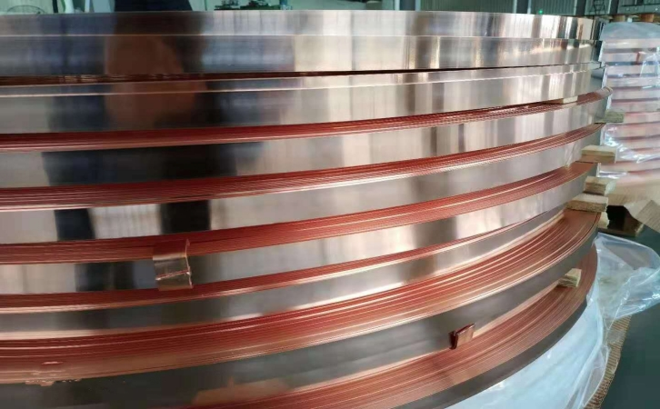 T2/C1100半硬紫铜带 加工分条送货图片八